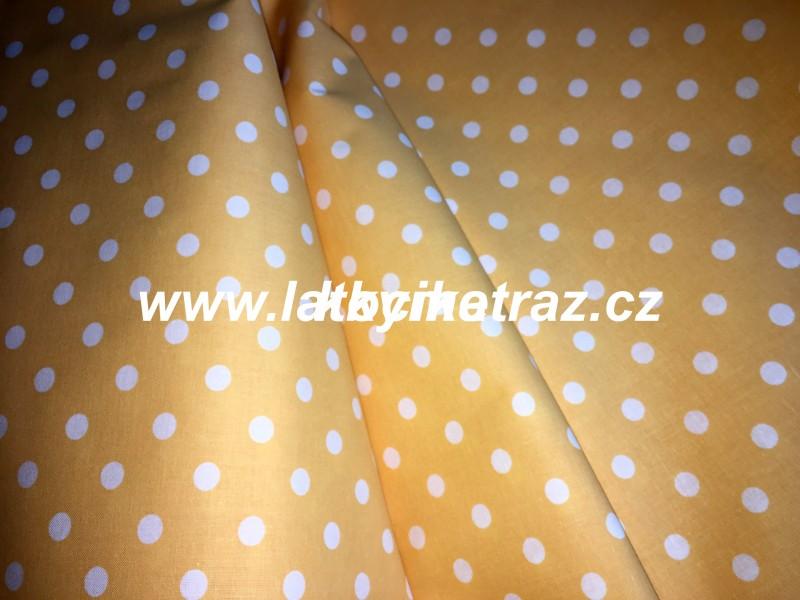 žlutooranž puntíček-větší