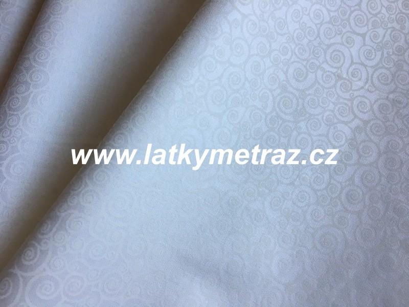 bílá na bílé-ulity-zbytek 17 cm