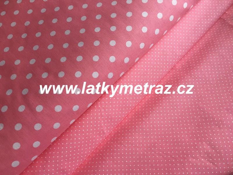 nový růžový puntík- drobný