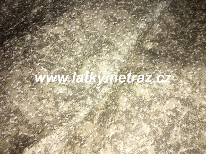 melír béžový-zbytek 60 cm