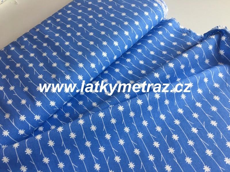 modrá kolekce-kyti bílé
