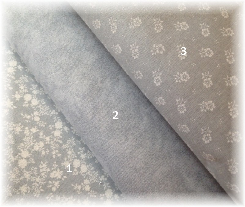 kolekce šedá-melír č.2-zbytek 78 cm