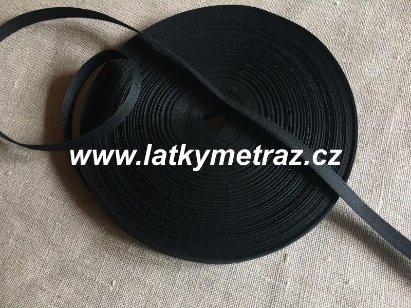 keprovka-tkaloun černá šíře 10 mm