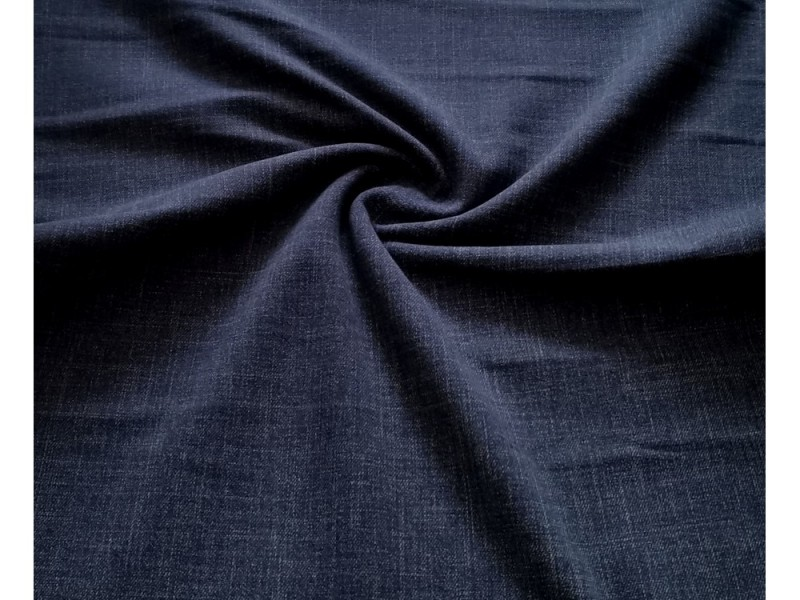 teplákovina-jeans modrá tmavá