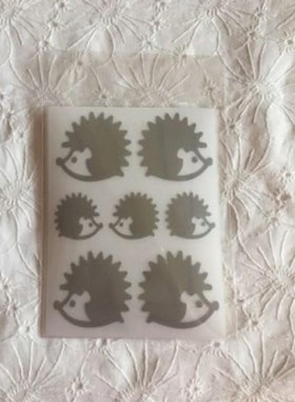 reflexní nažehlovačky-ježek