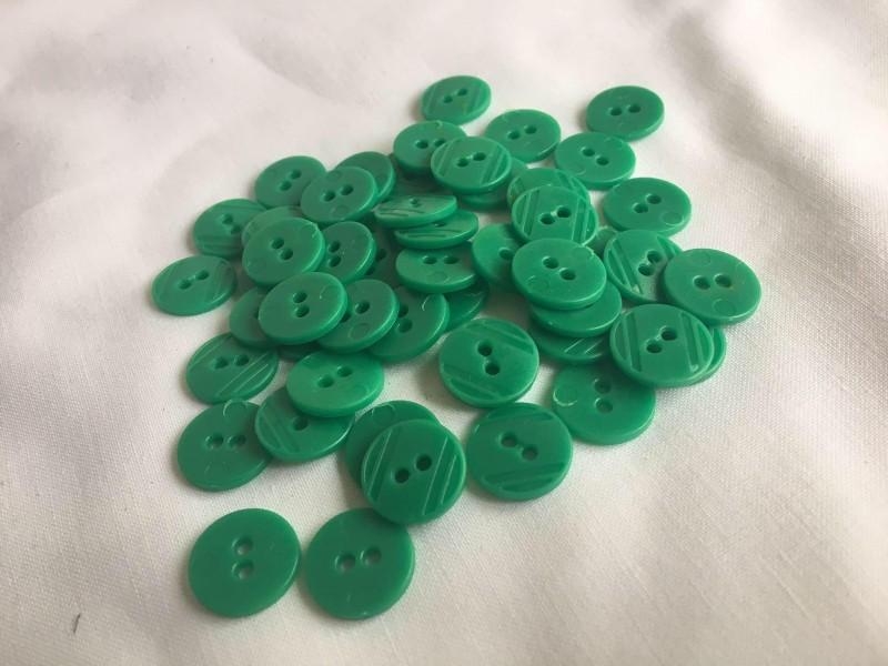 knoflíčky zelené