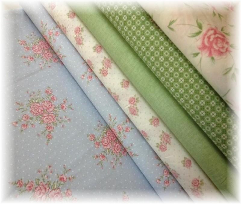 kolekce nová-drobné zelené vzory