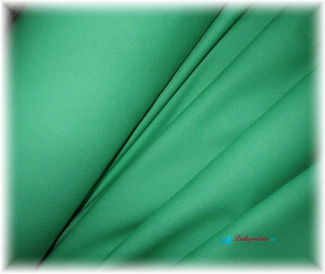 zelenkavá jednobarevná-zbytek 85 cm