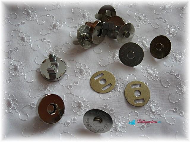 magnetické kovové zapínání-nikl