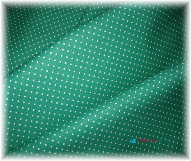 puntík na zelené-drobný
