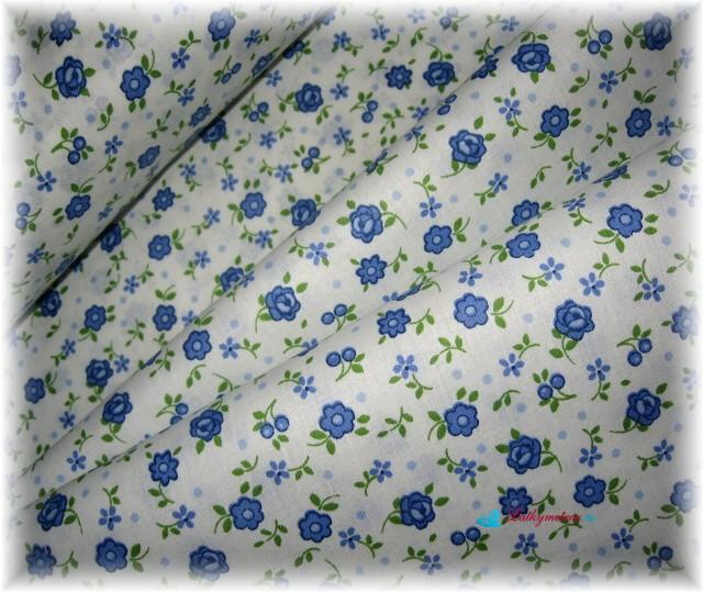 pravidelné kvítí-modré-zbytek 50 cm