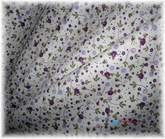 drobné fialové květinky-zbytek 80 cm