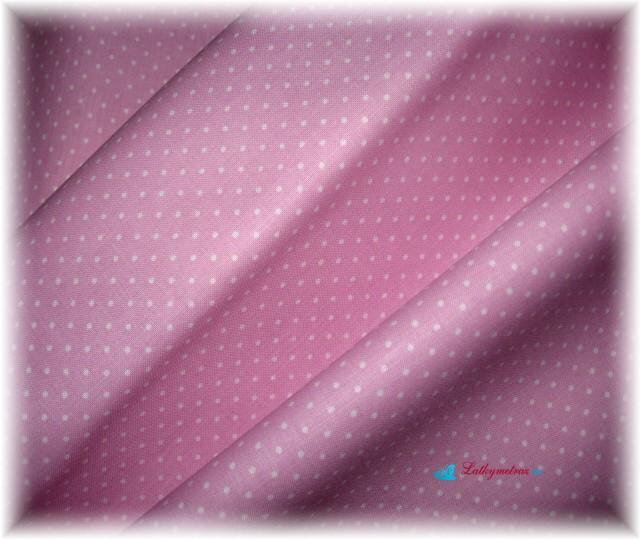 růžovofialový puntík-drobný