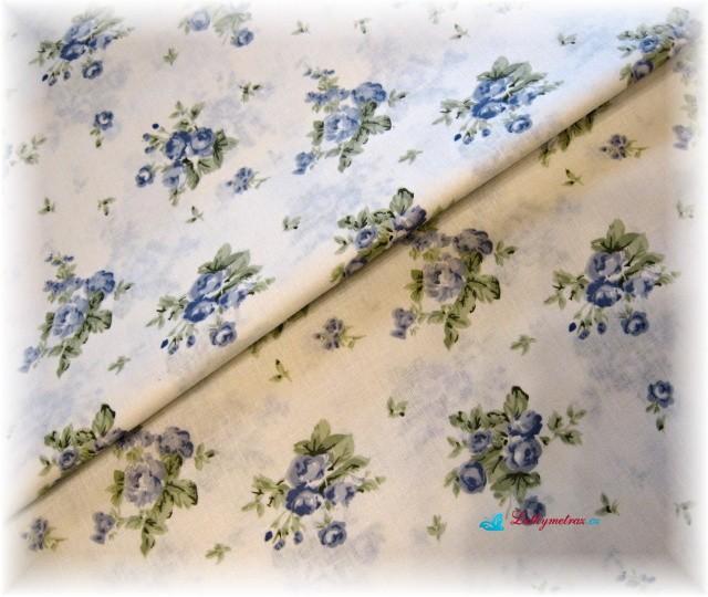 kytičky na smetanovém-zbytek 22 cm