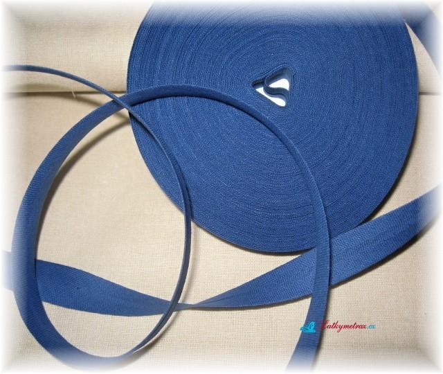 šikmý proužek-tmavě modrý