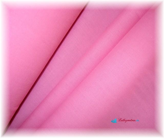 růžová-jednobarevná-zbytek 40 cm