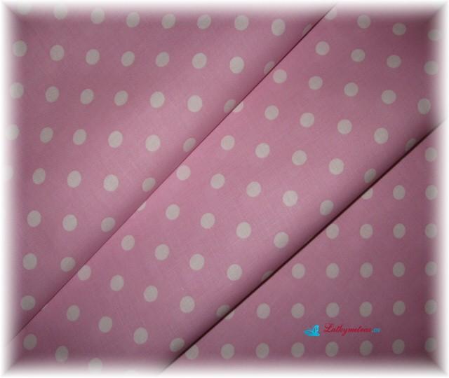 růžovofialový puntík-větší