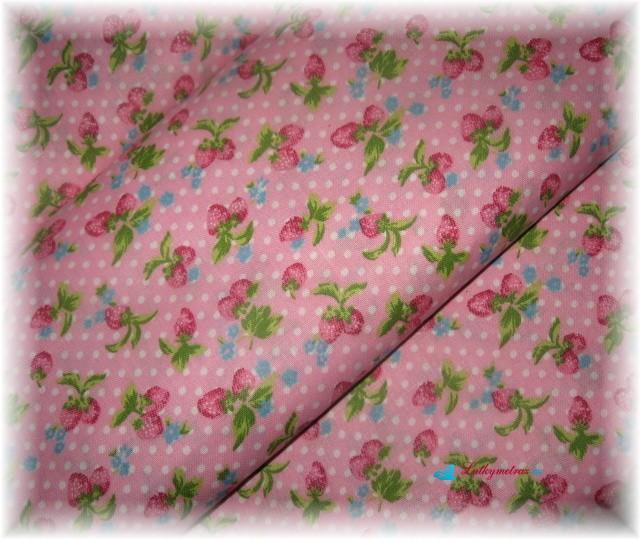 jahůdky růžové-zbytek 1 metr