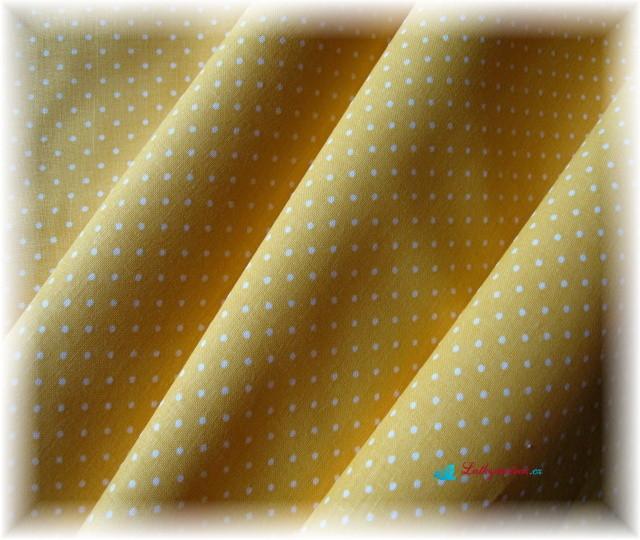 puntík na žluté-drobný