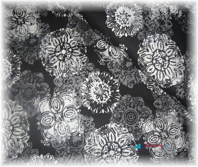 batika č.5-zbytek 75 cm