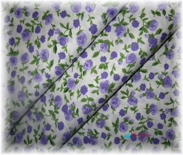 růže-drobné lila-zbytek 25 cm