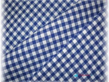 kanafas-modrý drobný-zbytek 68 cm