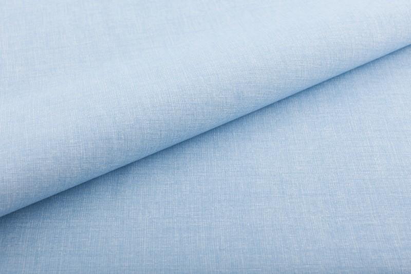lněná půda-nebesky modrá jednobarevná-zbytek 20 cm