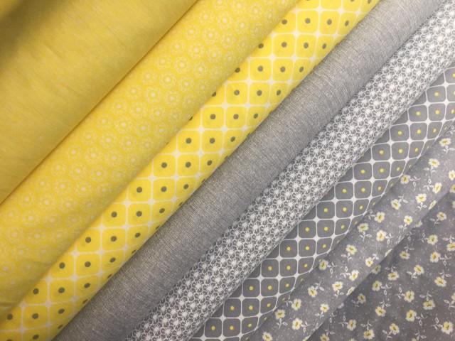 nová žluto šedá kolekce