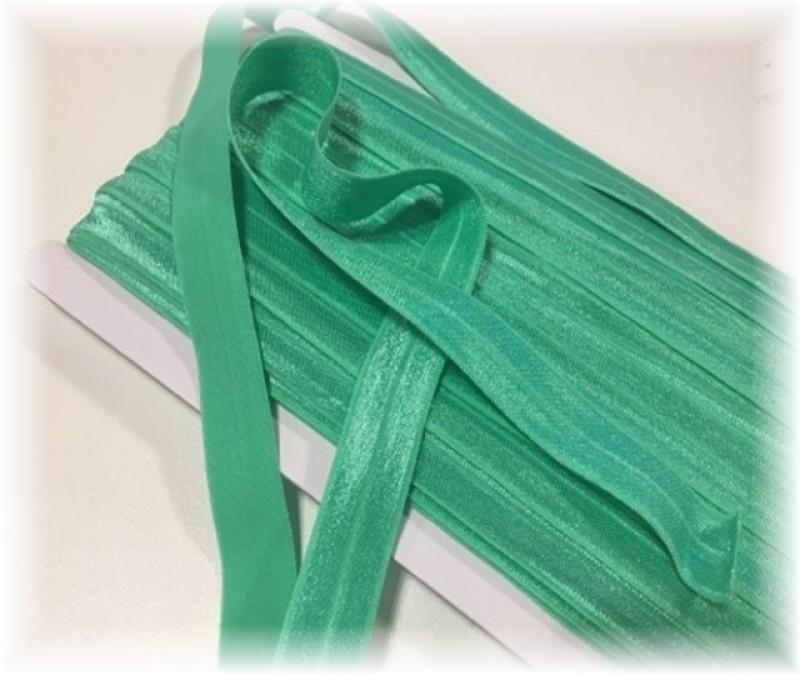 pruženka lemovací půlená-zelená světlá