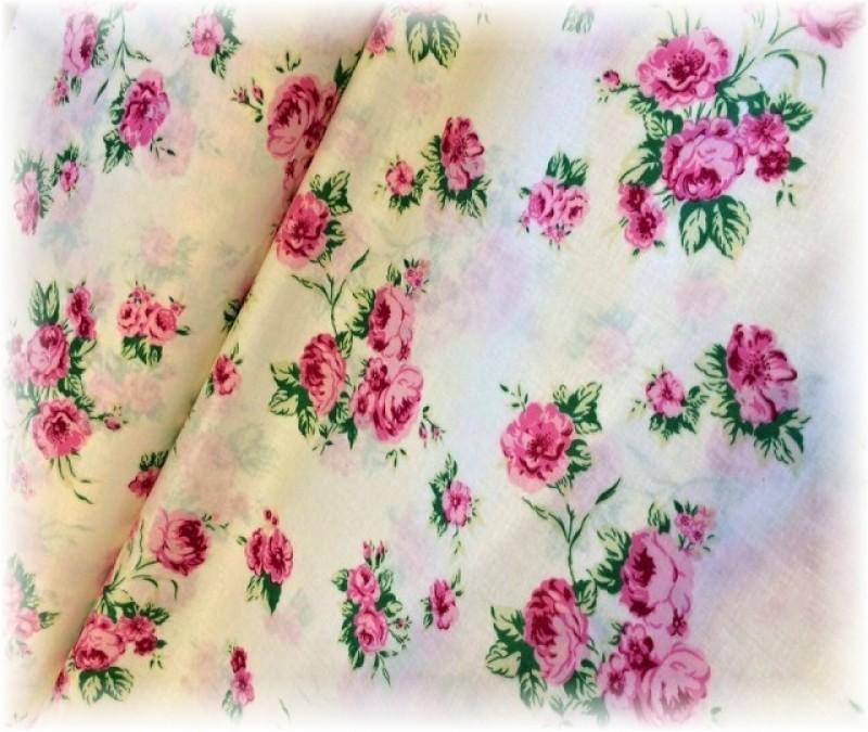 růže na smetanovém-zbytek 20 cm