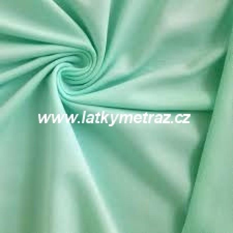 teplákovina-mintová-zbytek 70 cm