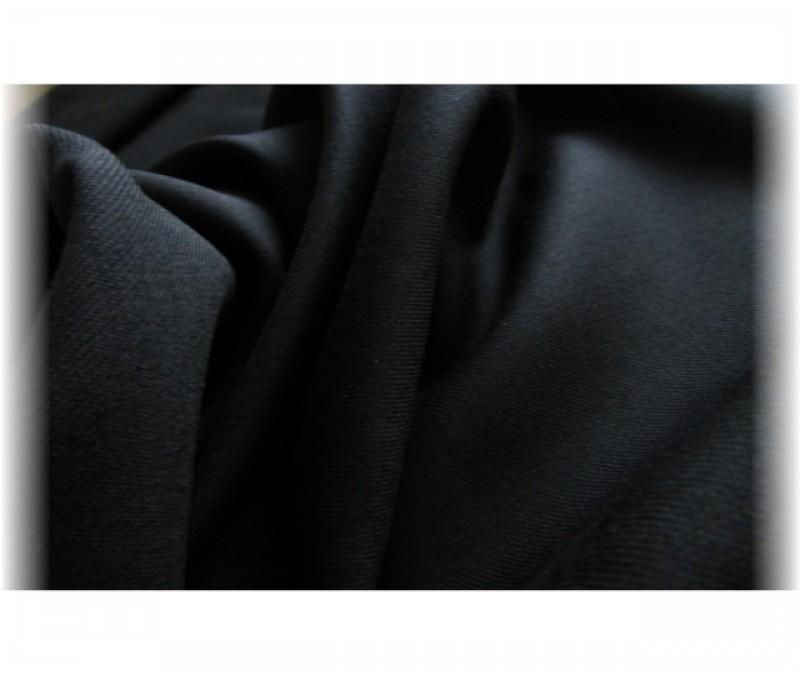 elastický náplet černý -15 x 80 cm