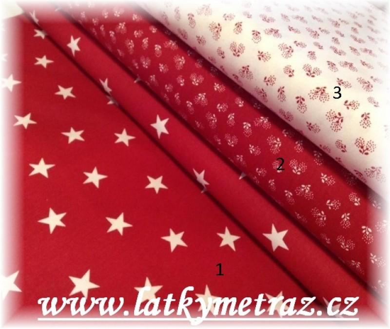 červená kolekce-hvězdy č.1