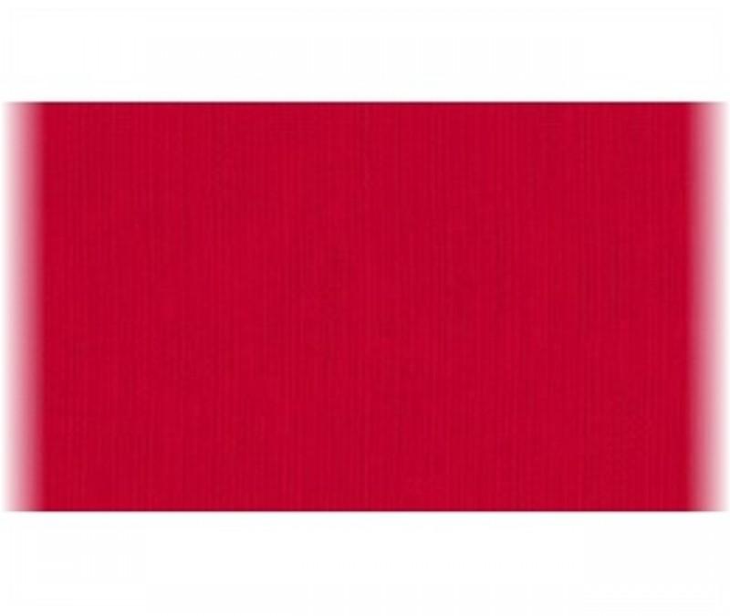 teplákovina-červená rubínová-zbytek 40 cm