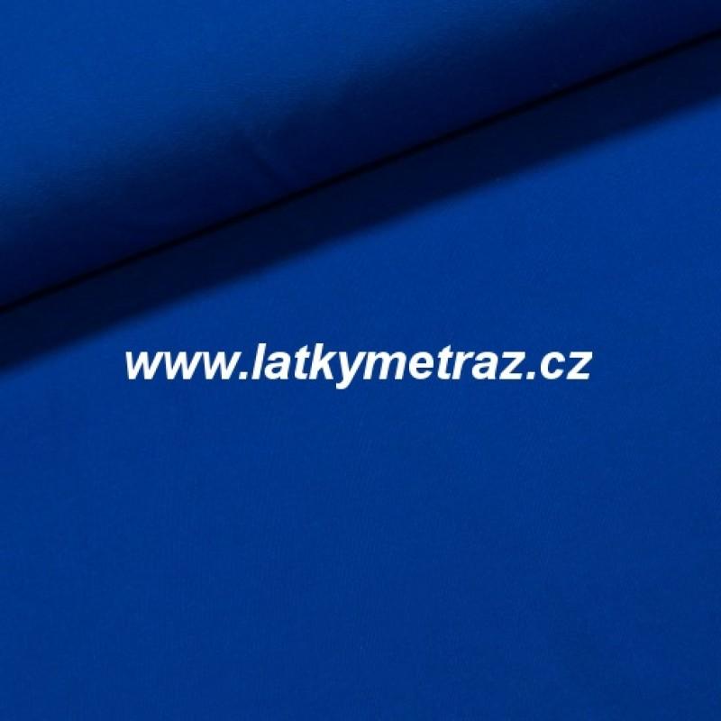 teplákovina-modrá-zbytek 29 cm