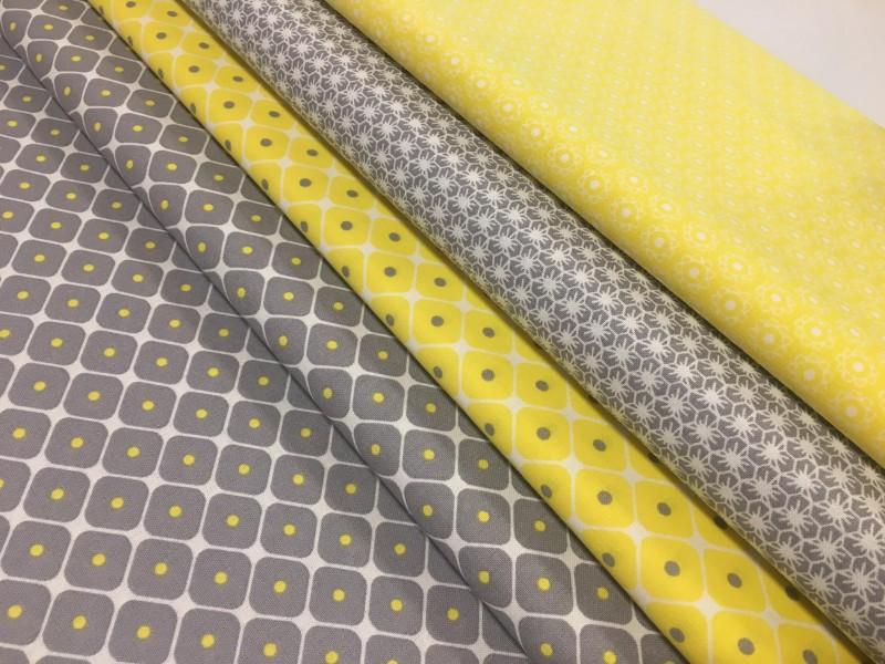 žluto šedý balíček 4 x 50 cm