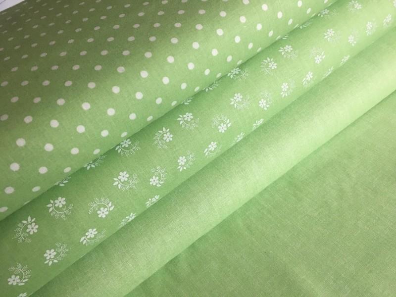 puntíčky  na zelené